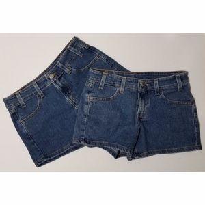 Lot of 2 LEVIS Juniors/Womens Levis Shorts Size 0